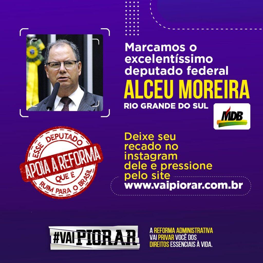 Pressione os deputados - vaipiorar.com.br